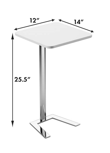 Woodstock Marketing Jefferson Free Standing End Table