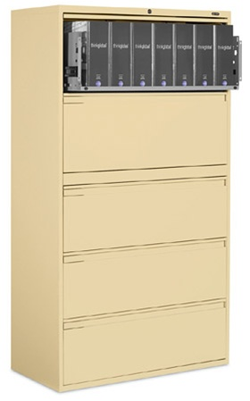 Global 9100P Series Lateral File 9136P-5F1H