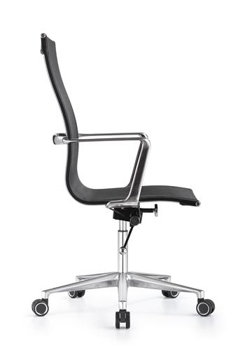 Woodstock Marketing Joan Black Full Mesh Office Chair