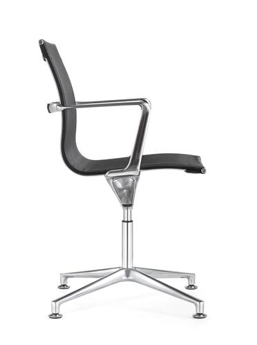Woodstock Marketing Joan Black Mesh Side Chair