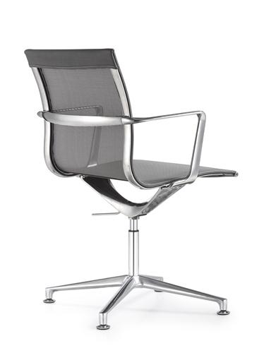 Woodstock Marketing Joan Gray Mesh Side Chair
