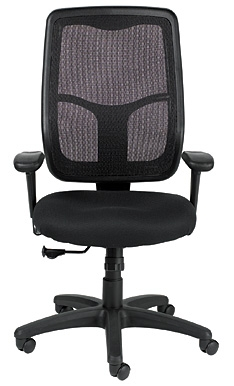 Eurotech Seating Apollo Black Mesh Back Office Chair MTHB94