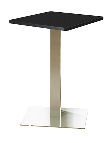 Mayline Stainless Steel Bar Height Bistro Table CA30SHS