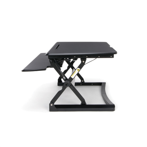 OFM Height Adjustable Sit-To-Stand Desktop Riser with Keyboard Tray - 5100