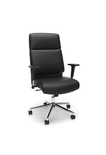 OFM High Back Leather Manager Chair 568 (3 Color Options!)