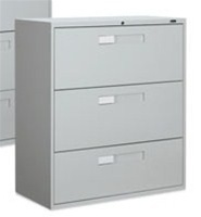 Global 9300 Series 3 Drawer Lateral File 9336-3F1H