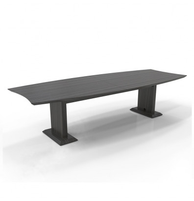 Mayline Sterling 10' Boat Shaped Conference Table STC10 (3 Finish Options!)