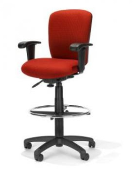 RFM Height Adjustable Drafting Stool R1-33