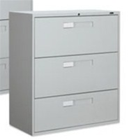 Global 9300 Series 3 Drawer Lateral File 9342-3F1H