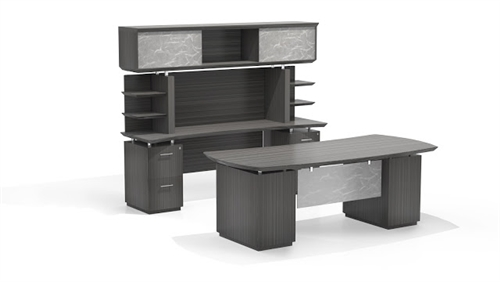 Mayline Sterling Series STL10 Executive Office Furniture Set