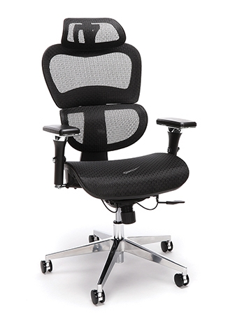 OFM Model 540 Core Collection Ergo Mesh Office Chair with Head Rest