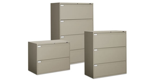 Global 9300 Series Lateral File Cabinet Set
