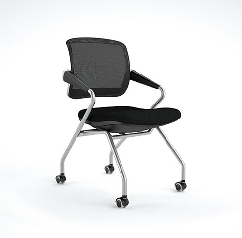 Mayline Valore Mid Back Training Chair TSM2 (2 Chairs)
