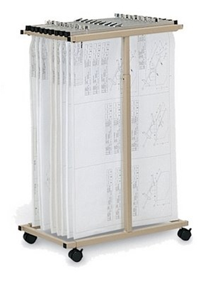 Mayline Vertical File Cart 9429