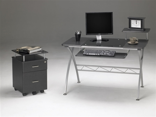 Mayline Vision Series Computer Furniture Set