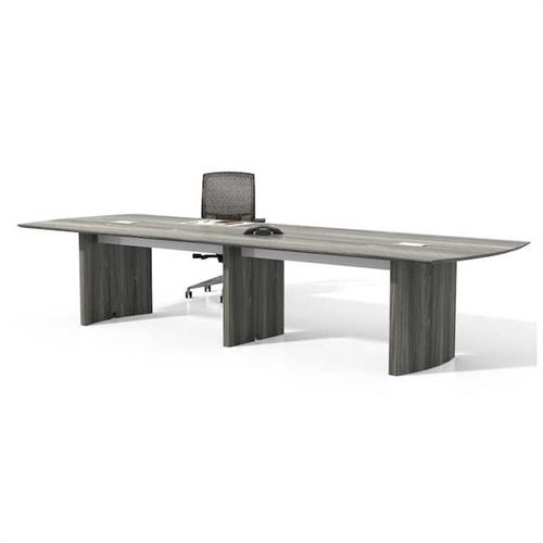 gray steel 12' medina table