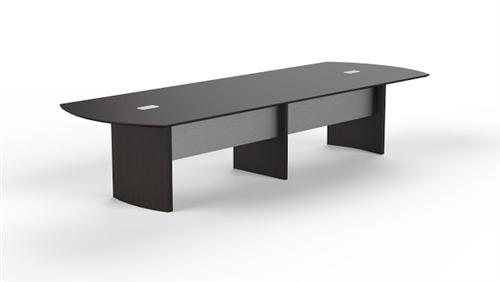 mnc12 mocha laminate medina 12' conference table