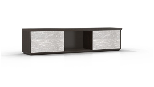 """Mayline Sterling STEH72 72"""" Wall Mount Hutch (3 Finishes Available!)"""