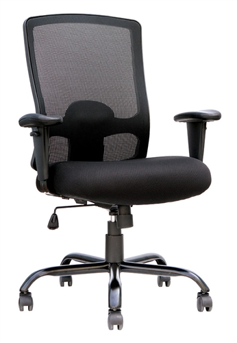 Eurotech Seating BT350 Big and Tall Mesh Back Office Chair (350 Pound Weight Capacity)