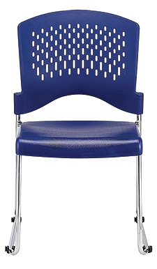 Eurotech Seating Aire Series S4000 Navy Blue Stack Chair (4 Pack!)