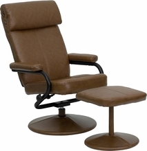 Flash Furniture Palomino Recliner with Ottoman
