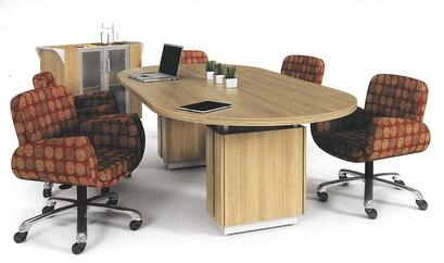 zira oval conference table