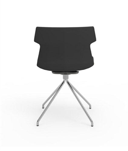 iDesk Tikal Upholstered Guest Chair with Spider Base (4 Pack!)