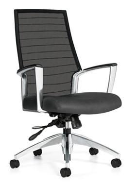 Global Accord High Back Mesh Chair 2676LM-4