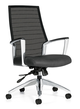 Global Accord High Back Mesh Chair 2676LM-4