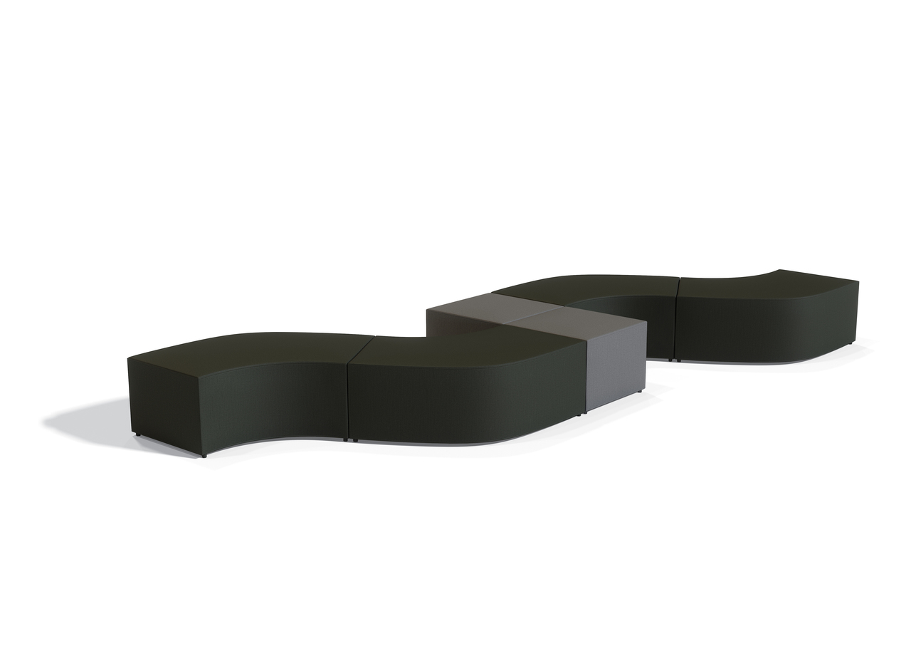 offices to go modular ottoman seating configuration