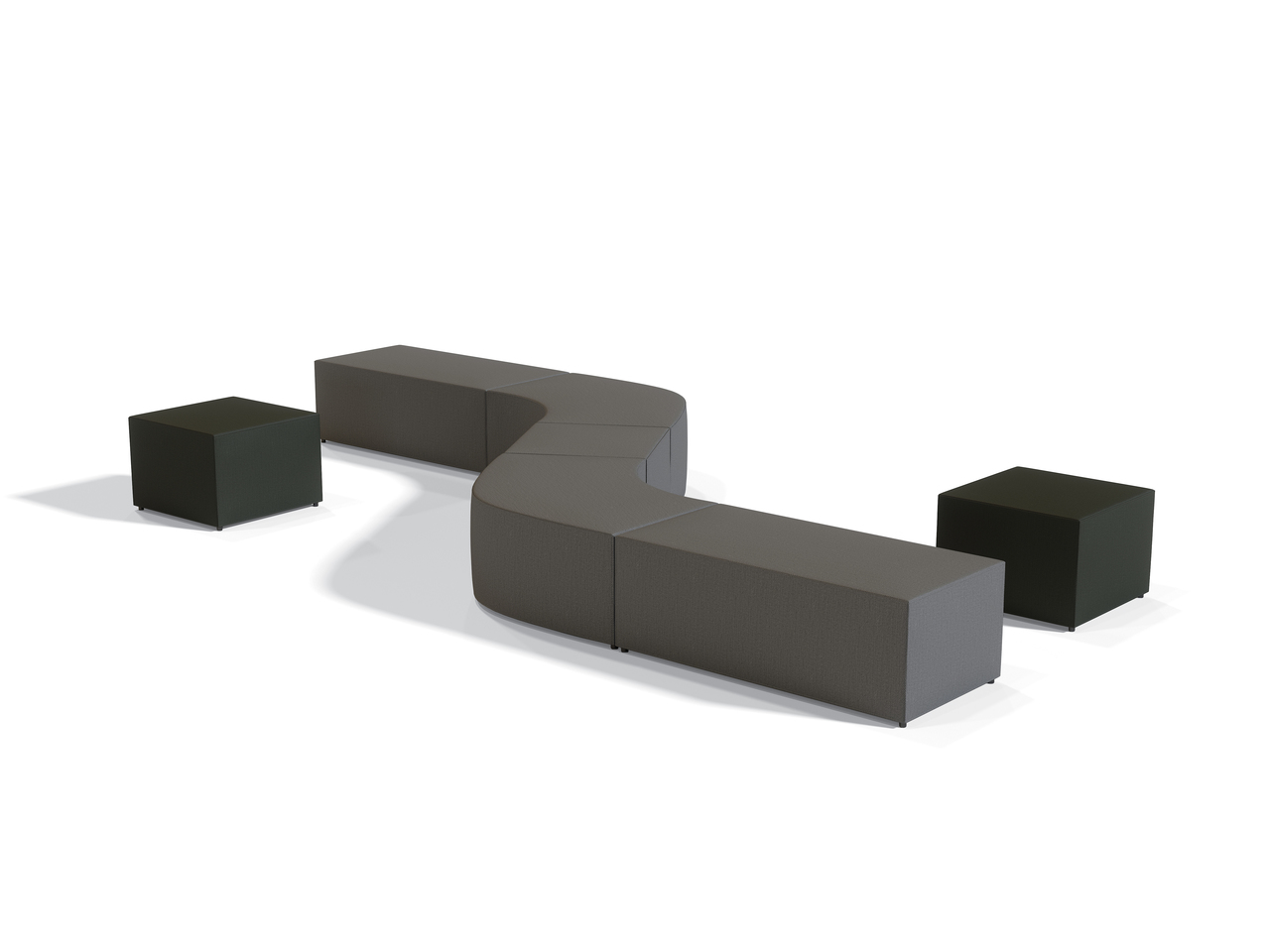 offices to go modular ottoman layout for reception area