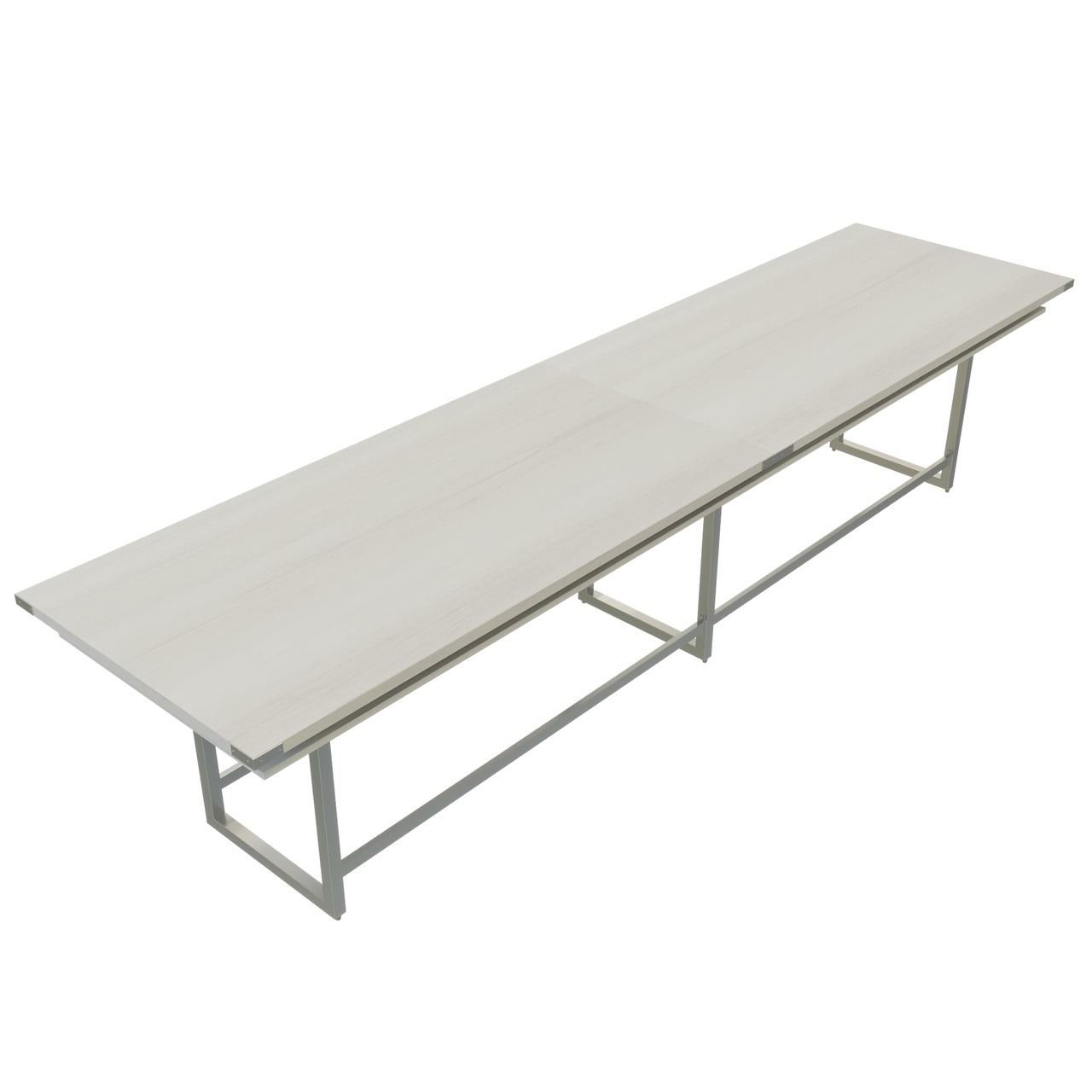white ash mirella standing height conference table mrh16