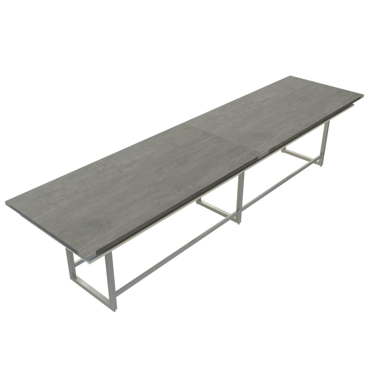 mirella series large ergonomic conference table