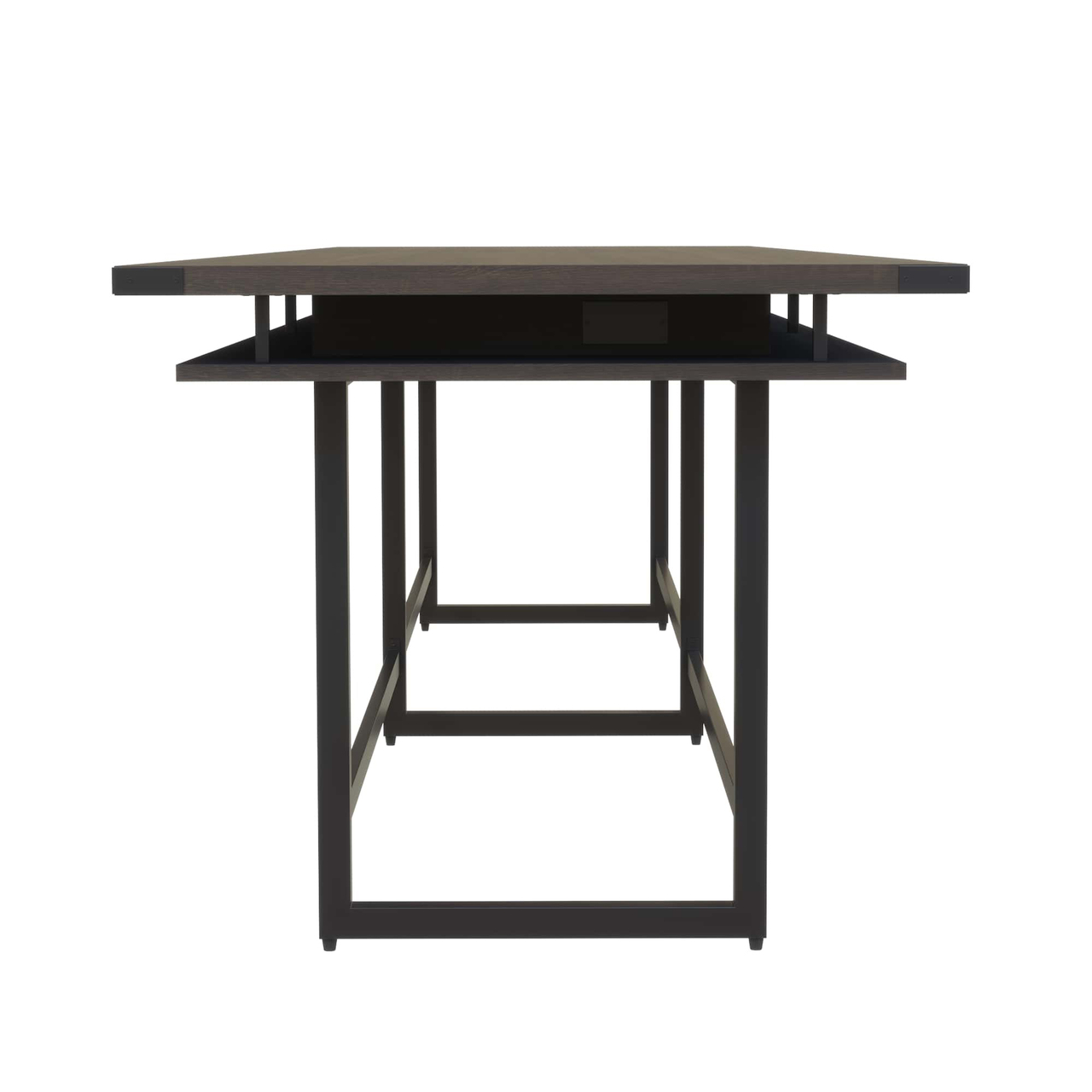 mirella floating top conference table