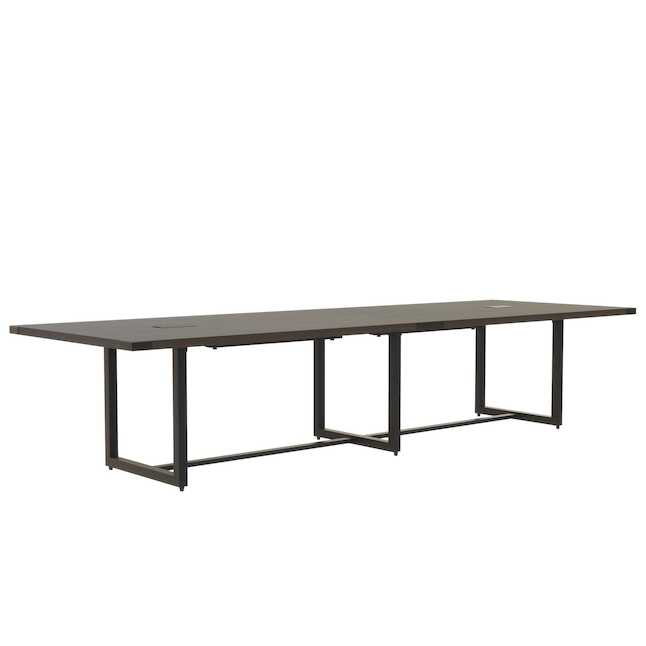 mirella southern tobacco 12' conference table