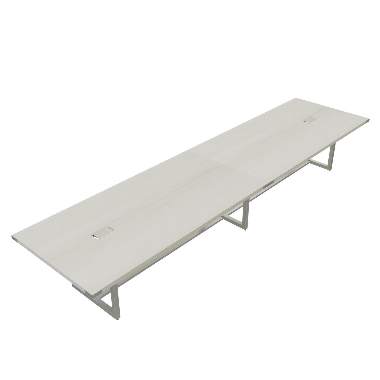 white ash mirella conference table