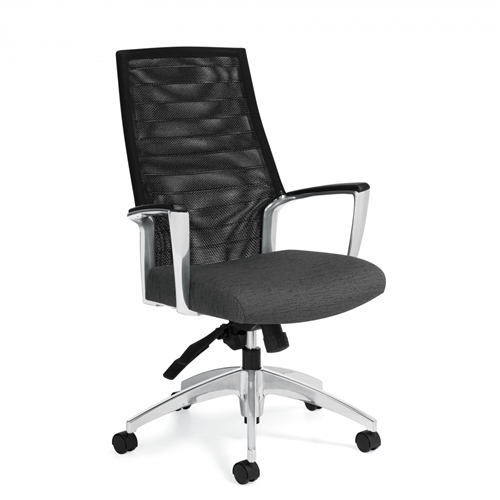 Global Accord InStock Mesh Chair 2676-4 (2 Seat Upholstery Options!)