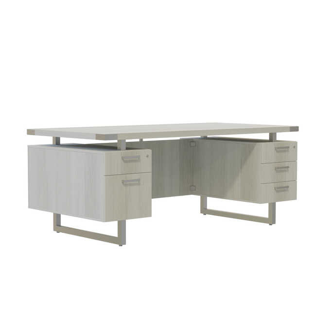 mirella modern floating top desk