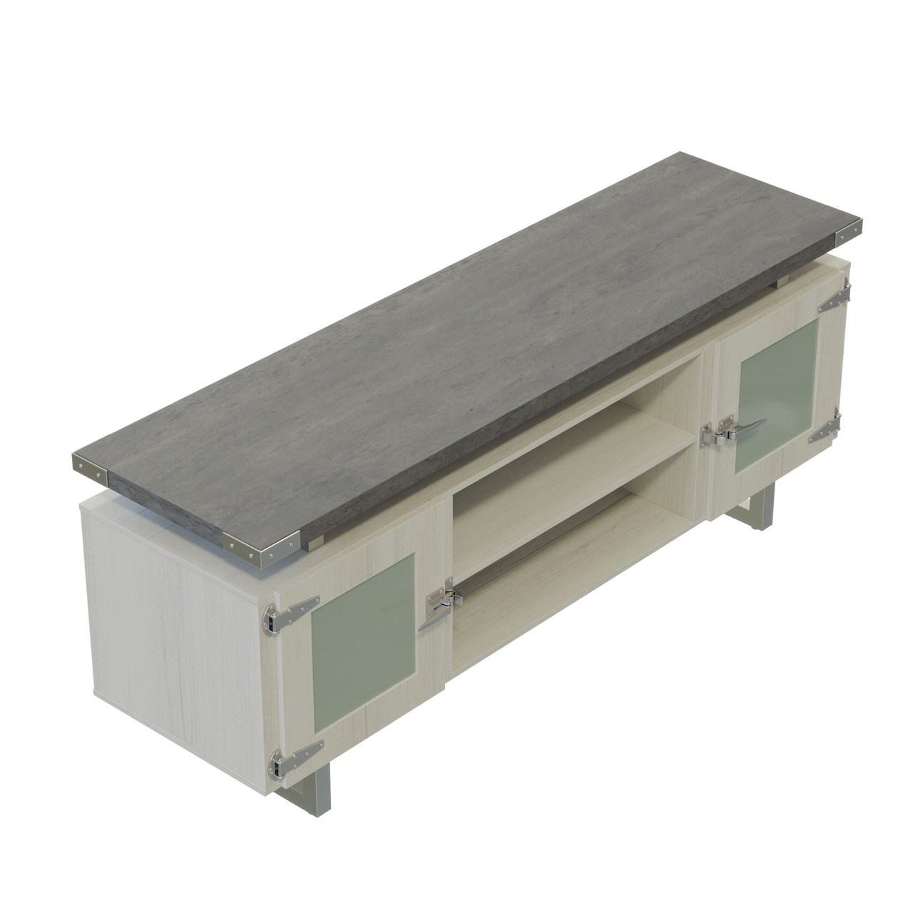 safco mirella low wall cabinet mrlwcgd