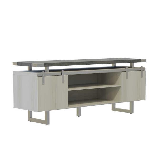 stone gray mirella low wall cabinet MRLWCWD