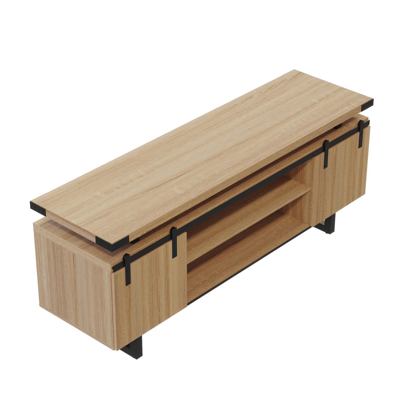 mirella MRLWCWD low wall cabinet with sand dune finish
