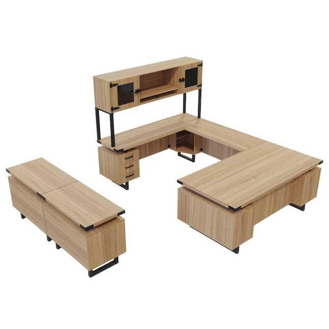 sand dune laminate mirella desk set mr2