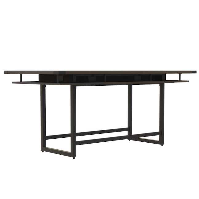 mrch8 mirella 8' standing height conference table with southern tobacco finish
