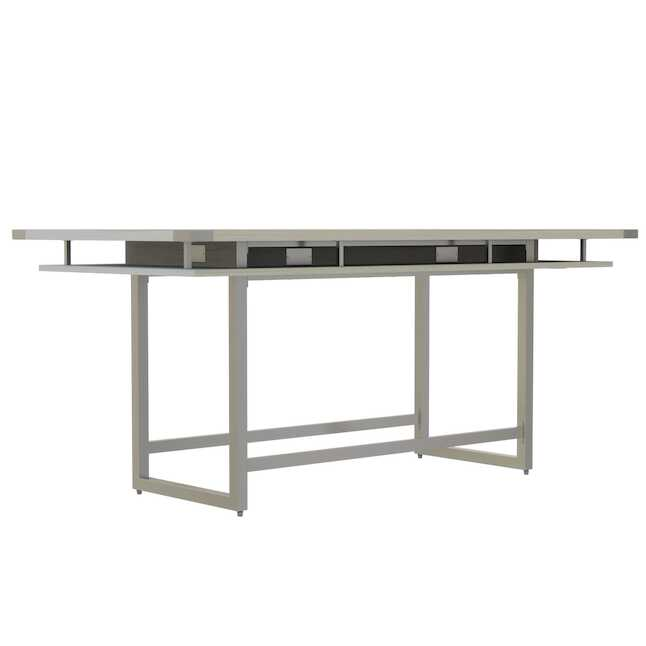 8' mirella standing height conference table