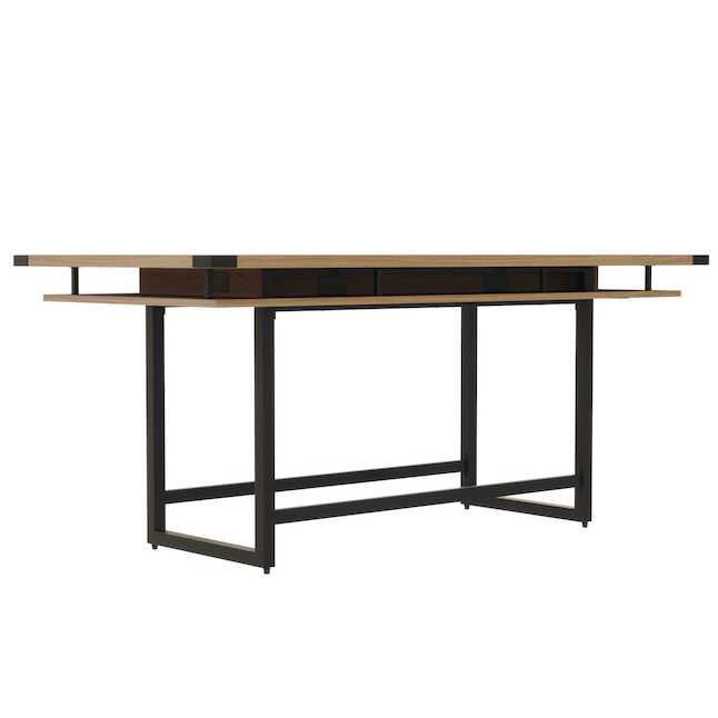 mrch8 mirella conference table with sand dune finish