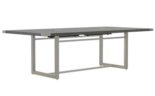 mirella table angled view