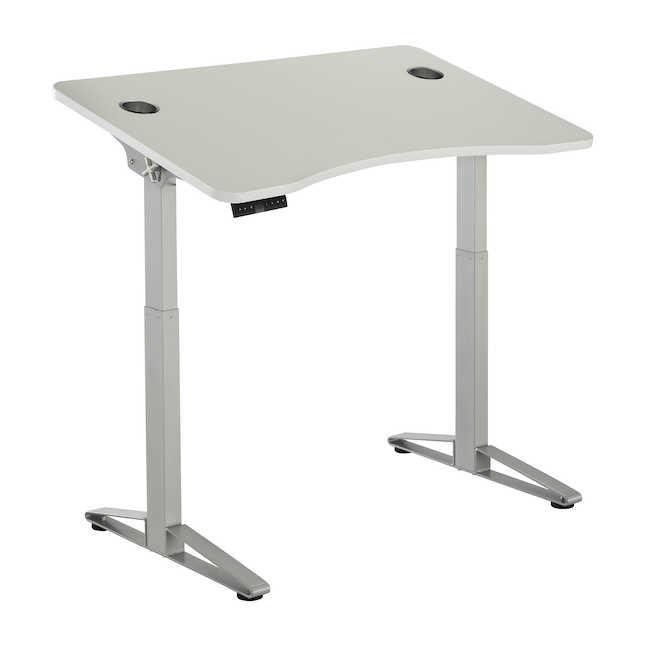 safco defy electric height-adjustable desk 1980wh