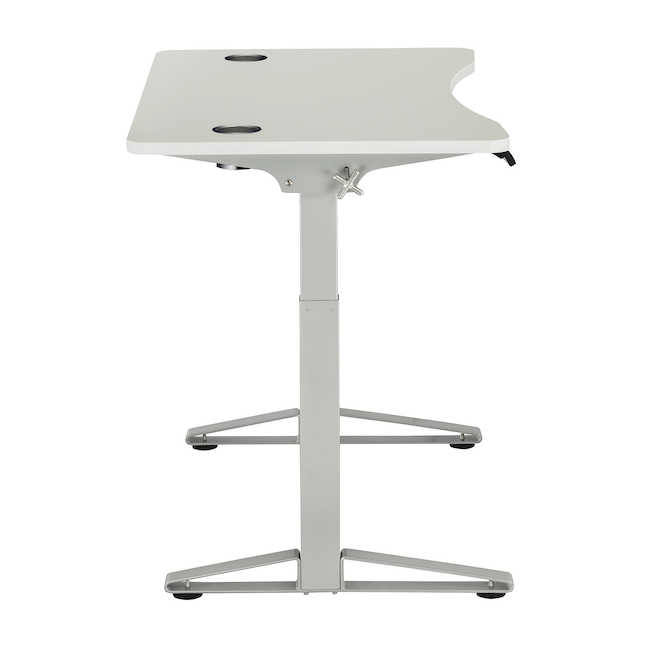 defy electric desk by safco