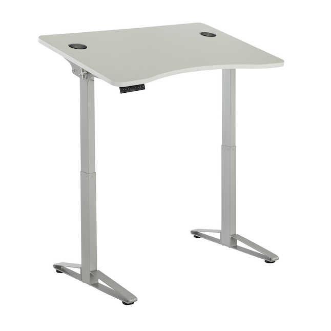 safco defy sit-stand desk