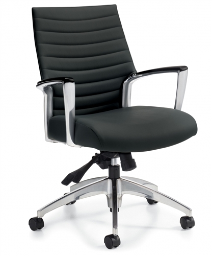 Global Accord Medium Back InStock Chair (2 Color Options!)